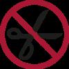 Verbotene Gegenstände - Schere im Handgepäck