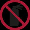 Verbotene Gegenstände - Spray Dose im Handgepäck