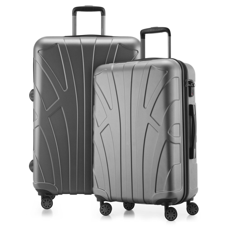 2er Kofferset Reisekoffer Set