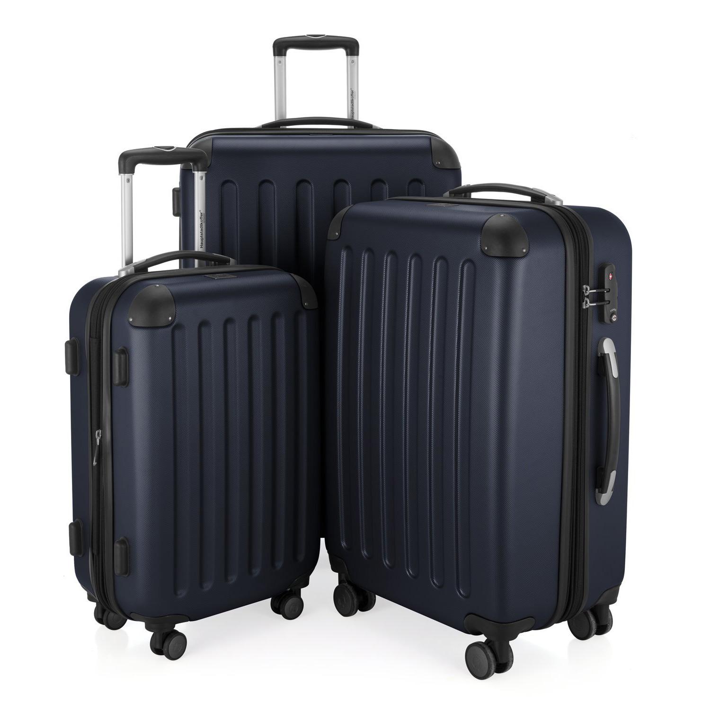 3er Koffer Set Spree in Blau